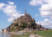 Мон Сен Мишель в Бретани